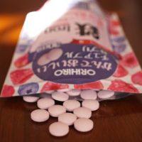 オリヒロ かんでおいしいチュアブルサプリ 鉄+葉酸